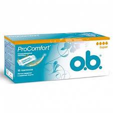 <b>О.б</b>. прокомфорт <b>тампоны</b> супер 16 шт. джонсон & джонсон ...