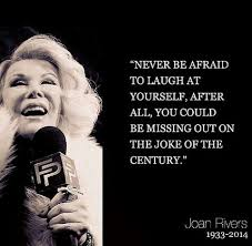 Joan Rivers On Fashion Quotes. QuotesGram via Relatably.com