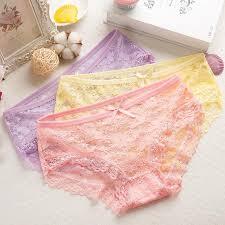 Women's <b>Seamless</b> Triangle Underwear Low Waist <b>Sexy</b> Panties ...