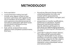 How to write research methodology for a dissertation