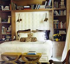 wall lights bed with swing arm sconces mounted on the headboard domino via atticmag bedside sconce lighting