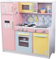 <b>KidKraft</b> 53181 Large <b>Pastel</b> Wooden Pretend Play Toy Kitchen for ...