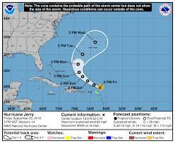 Hurricane Jerry 2019: Path looks better for Leeward Islands, but not ...