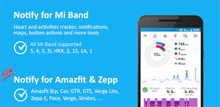 Notify for <b>Mi Band</b>: Get new features - Apps on Google Play