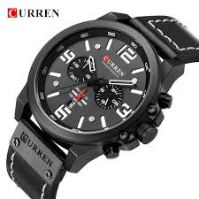 Men <b>Military</b> Sport <b>Quartz</b> Wrist Watch <b>CURREN Casual</b> Genuine ...