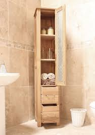 baumhaus mobel oak two drawer closed tall bathroom unit baumhaus mobel oak drawer