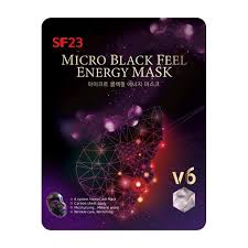 Гальваническая <b>маска Skin Factory</b> SF23 Micro Black Feel Energy ...
