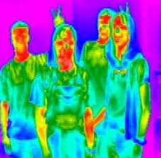 Image result for human body heat radiation