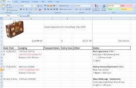 how to create a travel expense ledger gotta travel now blog photo how to create a travel ledger excel templates excel has expense