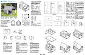quot  x  quot  Small Dog House Plans  Gable Roof Style   Porch    Image is loading    x     Small Dog House