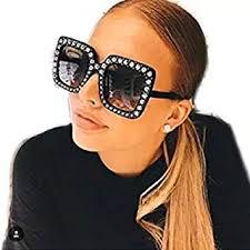 YABINA Womens Fashion Imitation Diamonds Cat Ear ... - Amazon.com