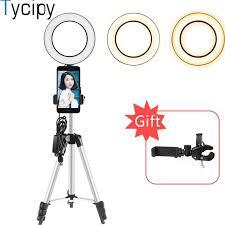 LED <b>Selfie</b> Lamp 20cm <b>Ring Light Video</b> Live 5500k Photo Studio ...