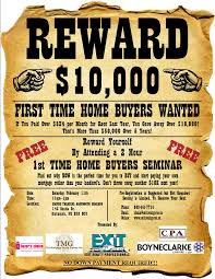 first time home buyer s seminar this coming saturday