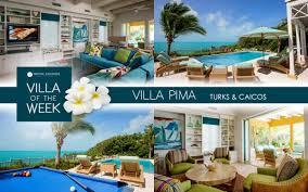 Villa of the Week: <b>Villa Pima</b>, Turks and Caicos | Rental Escapes