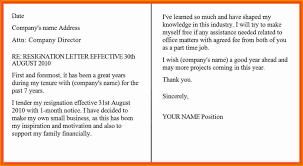 formal resignation letters professional resignation letter sample 4 resignation letter sample one month notice period expense report professional resignation letter template professional resignation