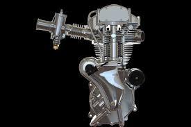 Velocette <b>Venom</b> Thruxton 500cc motorcycle <b>engine</b> | <b>3D CAD</b> ...