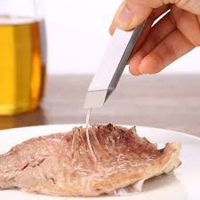 New <b>Portable Fish Bone Hair</b> Picking Remover Clip | Fish bone, Fish ...