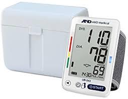 <b>A&D</b> Medical Wrist Blood Pressure Monitor for 2 Users (<b>UB</b>-543)