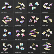 Fashion Crystal AB 30/<b>100pcs</b>/lot 3D <b>Nail</b> Art Long Water Drop ...