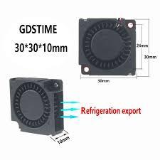 [ 17% Off ] Gdstime <b>2 pcs</b> 3cm Smart <b>Fan</b> 30mm Blower <b>Fan DC</b> ...
