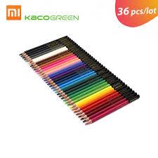 <b>36pcs</b>/lot KACOGREEN ARTIST Wood <b>Color</b> Pencils Set Artist ...