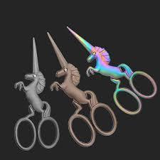 <b>Retro Vintage</b> Cutting <b>Scissors</b> Unicorn <b>Sewing</b> Tailor Thread ...