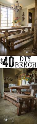 Picnic Table Dining Room 1000 Ideas About Dining Table Bench On Pinterest Table Bench
