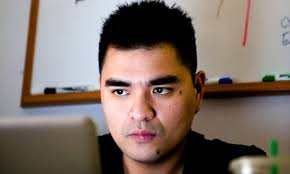 Jose Antonio Vargas is in his late 20s, a remarkably successful journalist, covering the 2008 presidential campaign for the Washington Post. - Jose-Antonio-Vargas-007