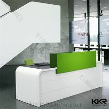 high quality italian design executiveceo modern open concept design ideas office furniture corian acrylic solid surface reception front desk china ce approved office furniture reception desk