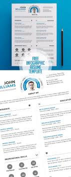 cv resume templates bies graphic design clean and infographic resume psd template