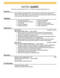 ideas about teacher resume template on pinterest   teacher    best teacher resume templates