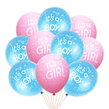 <b>10Pcs It Is A Boy</b> and It's A Girl Baby Boy Latex Balloons for ...