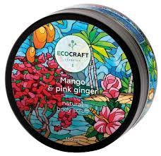 <b>EcoCraft Скраб для</b> тела Mango and pink ginger — купить по ...