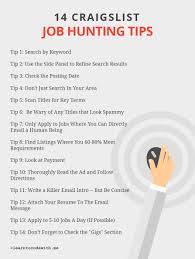 how to kill at finding jobs on craigslist 14 tips for craigslist job hunting