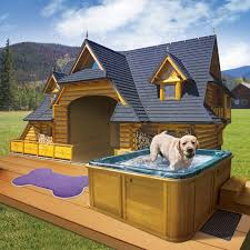 ideas about Cool Dog Houses on Pinterest   Dog Houses  Cool    The Lodge   This and several other really cool dog house ideas