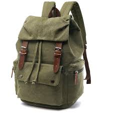 <b>ZUOLUNDUO</b> Men's <b>Fashion</b> Multifunctional Canvas Backpack for ...