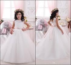 <b>Lovely Flower Girl</b> Dresses <b>2019</b> Vintage Lace Princess Junior ...