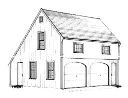 an officegarage plan with an early american heritage the plans provide complete construction details for a two car garage which is 22 deep home office early