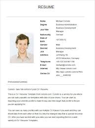 basic resume template –    free samples  examples  format    basic resume template for business development manager
