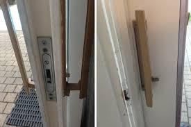 patio door locking mechanism