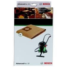 «<b>Бумажные мешки</b> для <b>Bosch</b> AdvancedVac 20, 5 шт. 2609256F33 ...