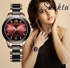<b>SUNKTA Fashion Women Watches</b> Ladies Top Brand Luxury ...