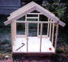 Double Dog Dog House Plansdog house framework