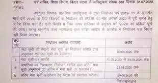 BIHAR Teacher Niyojan Merit list 2019- Bihar Shikshak Niyojan ...