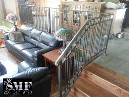 Custom Stair Railing Railings Sunset Metal Fab Inc