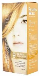 Welcos <b>Краска для волос</b> на фруктовой основе <b>Fruits</b> Wax Pearl ...