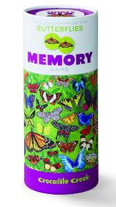 <b>Игра</b>-головоломка <b>CROCODILE CREEK</b> Memory Мемори Бабочки ...