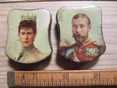 King George VI, <b>Pin Badge</b>, prob 1937 Coronation, Queen Elizabeth ...
