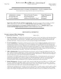 resume examples sample resume achievements achievements for sperson resume sample
