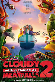 Cloudy with a Chance of Meatballs 2 - Estreno